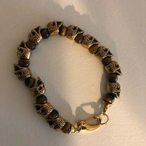 Other - Men's skull bracelet